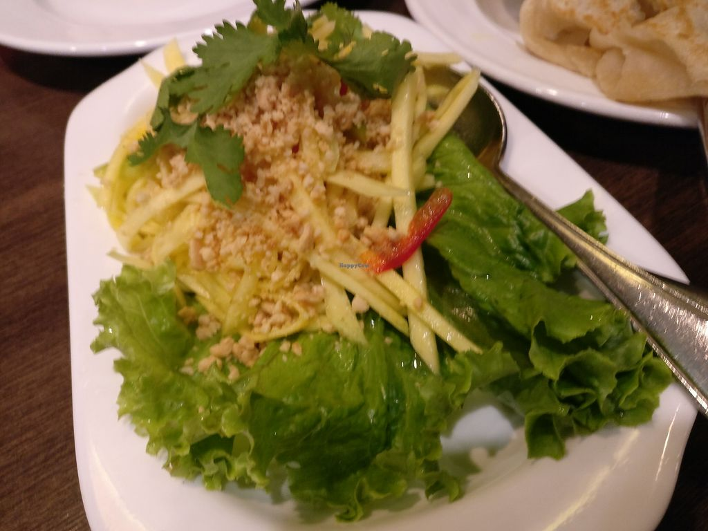 "Photo of Restoran Malaysia  by <a href=""/members/profile/cdnvegan"">cdnvegan</a> <br/>Green mango salad <br/> July 20, 2017  - <a href='/contact/abuse/image/96640/282353'>Report</a>"