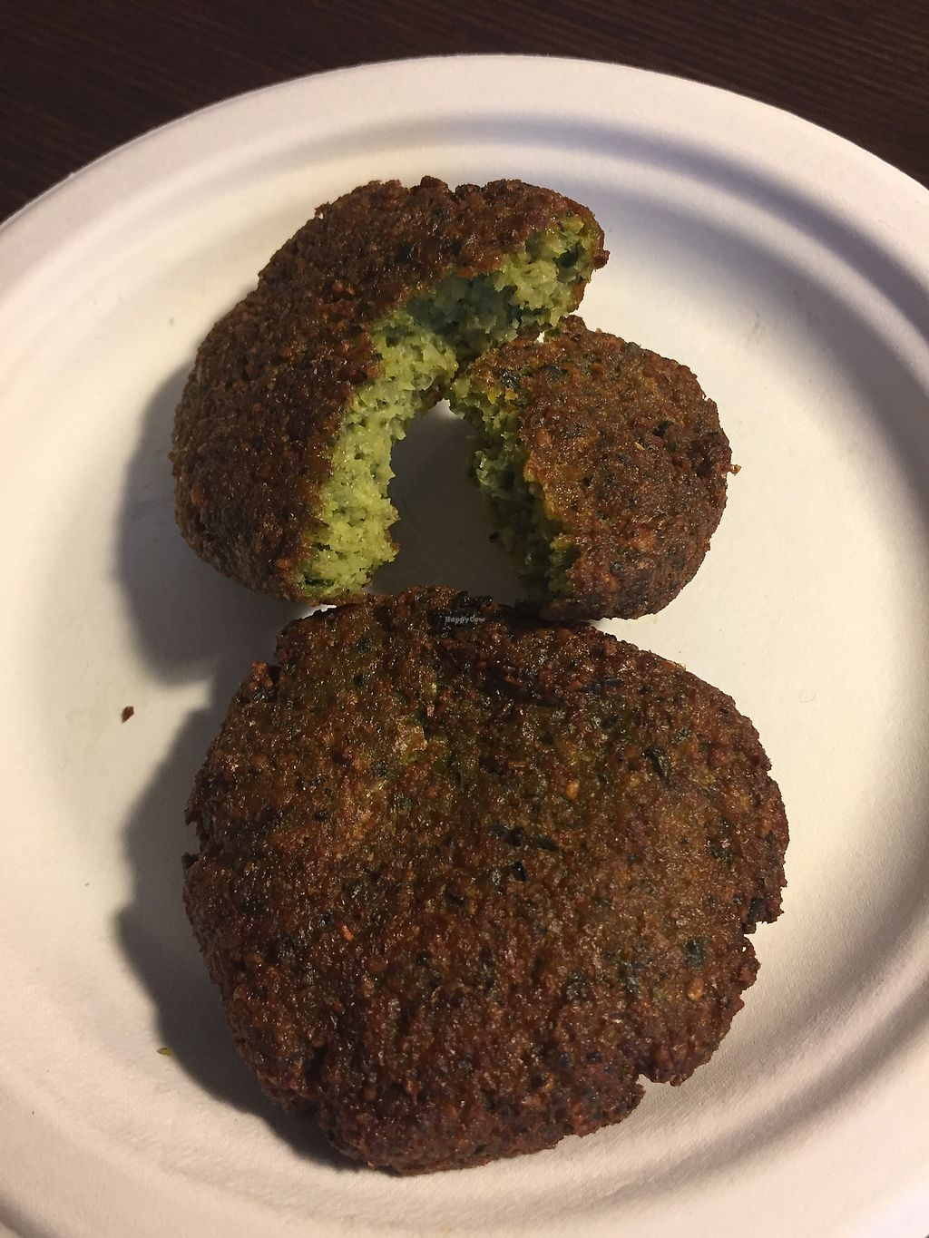 """Photo of Blend Cups Organic  by <a href=""""/members/profile/TracyV600"""">TracyV600</a> <br/>Best falafel EVER! Moist and flavorful. Highly recommend <br/> September 20, 2017  - <a href='/contact/abuse/image/96656/306636'>Report</a>"""