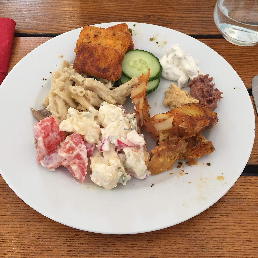 """Photo of The Judgy Vegan  by <a href=""""/members/profile/dwmerlin"""">dwmerlin</a> <br/>A part of the salty buffet. The picture doesn't make it justice <br/> September 7, 2017  - <a href='/contact/abuse/image/96680/301710'>Report</a>"""