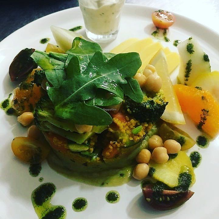 """Photo of Restaurante Funky  by <a href=""""/members/profile/PedroMBrandao"""">PedroMBrandao</a> <br/>Vegan Salad <br/> July 26, 2017  - <a href='/contact/abuse/image/96685/284976'>Report</a>"""