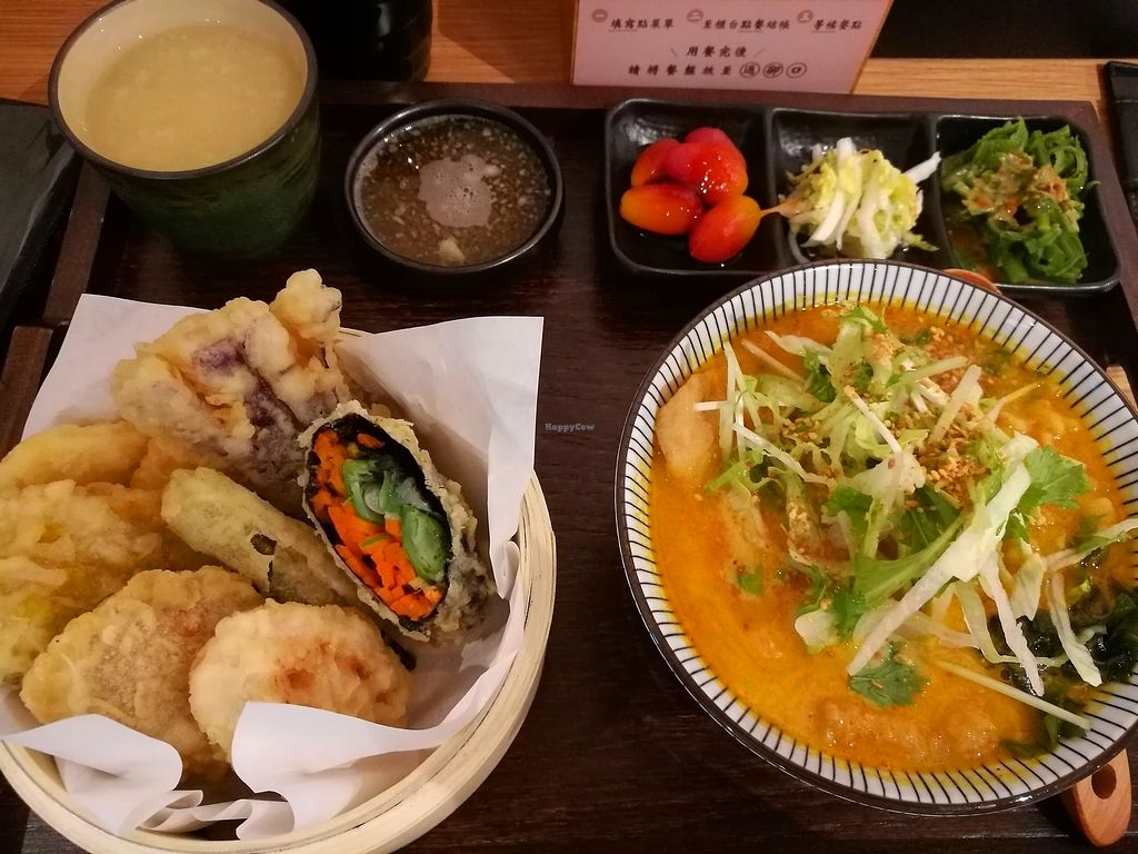 """Photo of Hoshina Teishoku - Zhongshan District  by <a href=""""/members/profile/angelikanyway"""">angelikanyway</a> <br/>Curry oulong noodles <br/> August 19, 2017  - <a href='/contact/abuse/image/96690/294221'>Report</a>"""