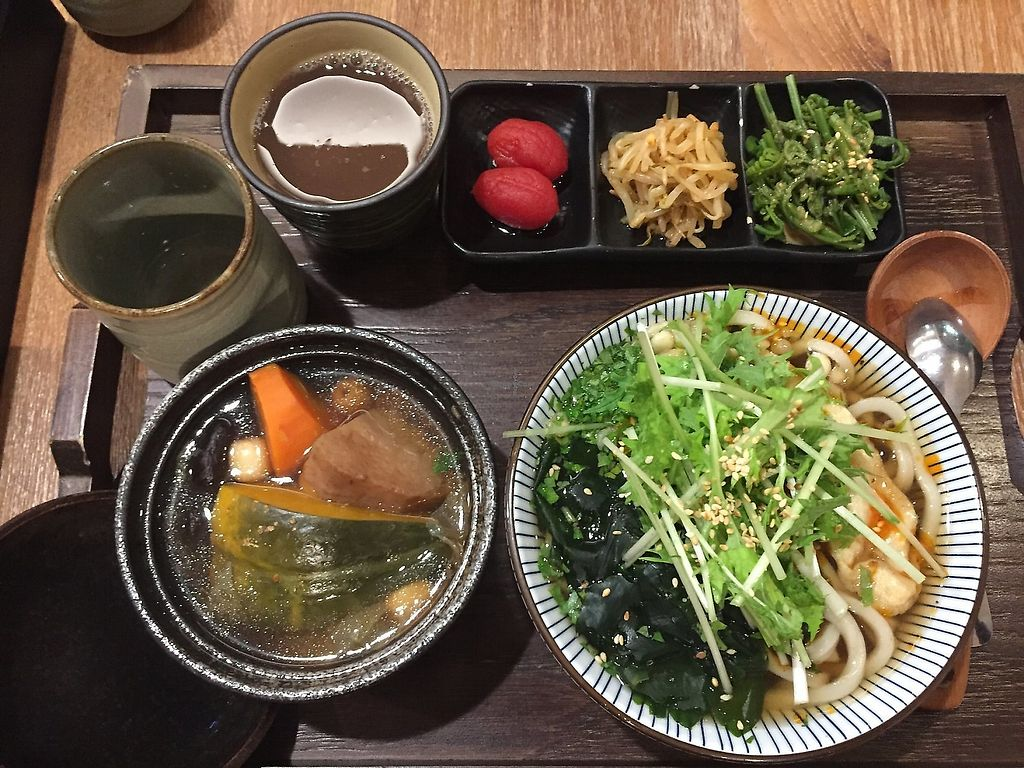 """Photo of Hoshina Teishoku - Zhongshan District  by <a href=""""/members/profile/aliverv88"""">aliverv88</a> <br/>Spicy brother udon set menu  <br/> December 28, 2017  - <a href='/contact/abuse/image/96690/360834'>Report</a>"""
