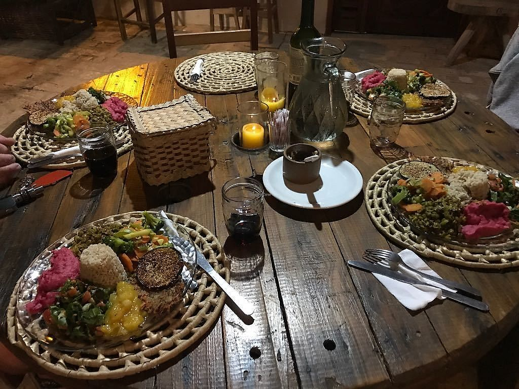 """Photo of Coco-Knots Kite Lodge  by <a href=""""/members/profile/Coco-Knots"""">Coco-Knots</a> <br/>Vegan candle light dinner  <br/> July 20, 2017  - <a href='/contact/abuse/image/96692/282545'>Report</a>"""