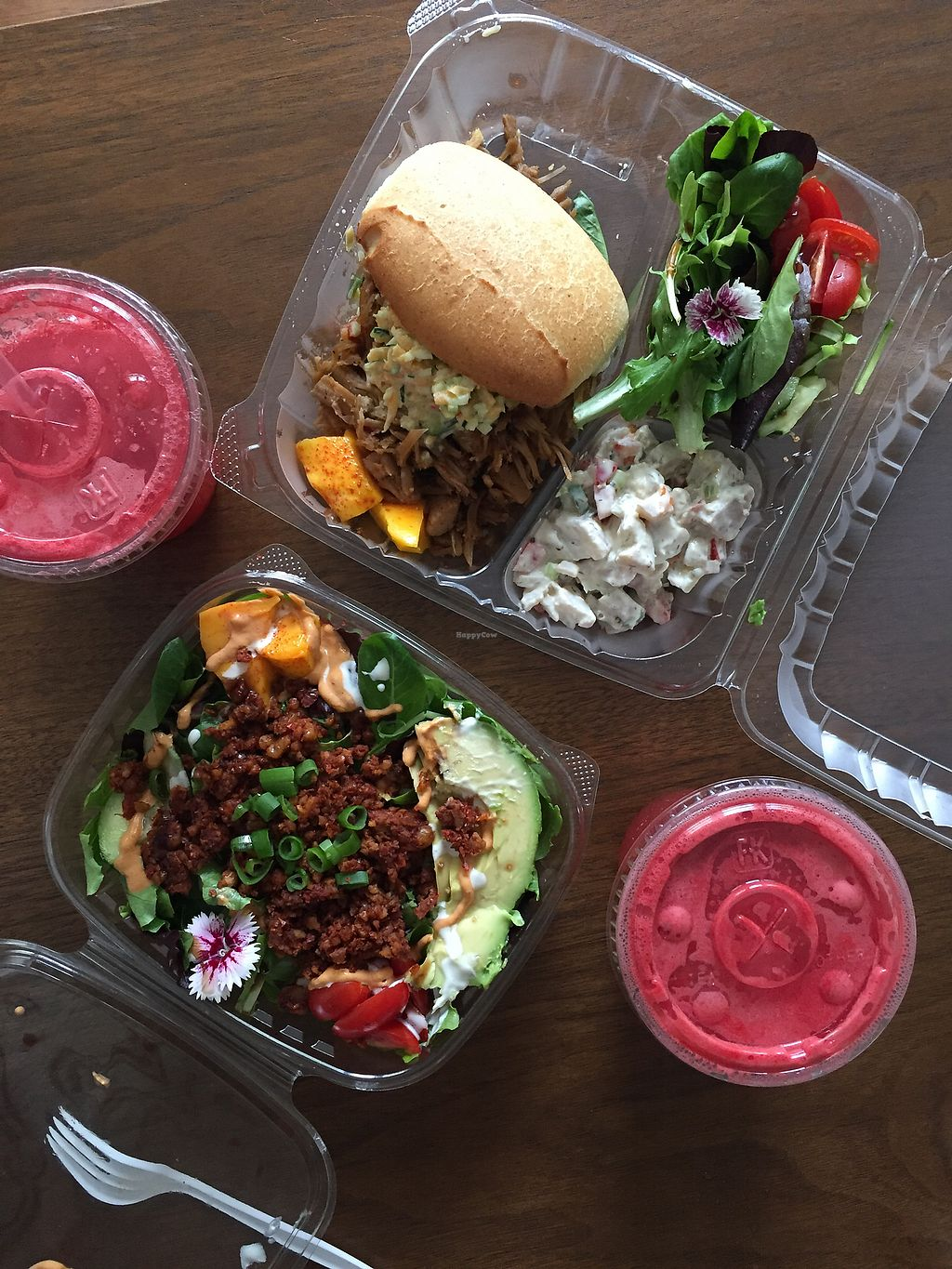 "Photo of Recipe Oak Cliff  by <a href=""/members/profile/ChristinaIsBlue"">ChristinaIsBlue</a> <br/>Jackfruit Sandwich and Taco Salad  <br/> August 18, 2017  - <a href='/contact/abuse/image/96694/294083'>Report</a>"