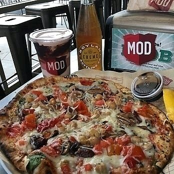 """Photo of Mod Pizza  by <a href=""""/members/profile/KimRodriguez"""">KimRodriguez</a> <br/>mod pizza <br/> February 21, 2018  - <a href='/contact/abuse/image/96701/362055'>Report</a>"""