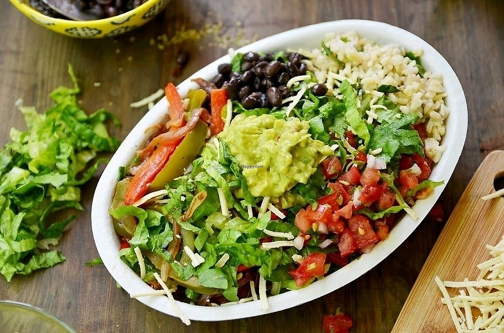 "Photo of Chipotle  by <a href=""/members/profile/KimRodriguez"">KimRodriguez</a> <br/>burrito bol <br/> February 21, 2018  - <a href='/contact/abuse/image/96702/362054'>Report</a>"