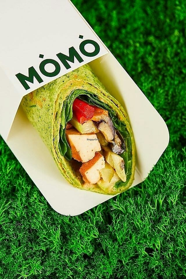 """Photo of MOMO  by <a href=""""/members/profile/VitalinaKudria"""">VitalinaKudria</a> <br/>Nice vegan wrap with tofu and veggies  <br/> July 21, 2017  - <a href='/contact/abuse/image/96710/282727'>Report</a>"""