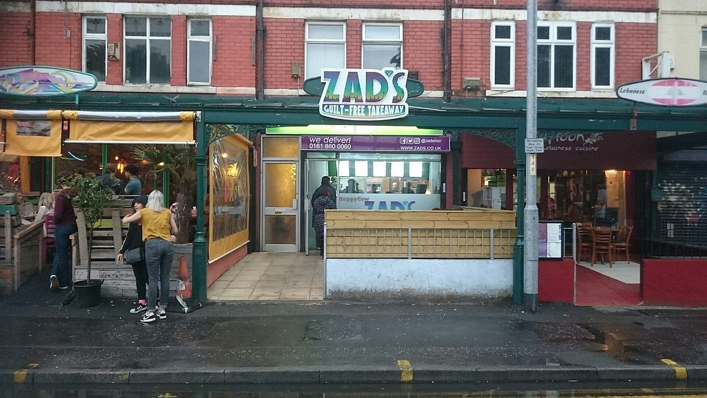 "Photo of Zad's  by <a href=""/members/profile/veganfishcake"">veganfishcake</a> <br/>Front of takeaway  <br/> August 5, 2017  - <a href='/contact/abuse/image/96730/289364'>Report</a>"