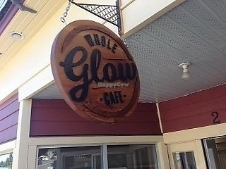 """Photo of Whole Glow Cafe  by <a href=""""/members/profile/dontbedaft"""">dontbedaft</a> <br/>sign outside <br/> July 22, 2017  - <a href='/contact/abuse/image/96763/283279'>Report</a>"""
