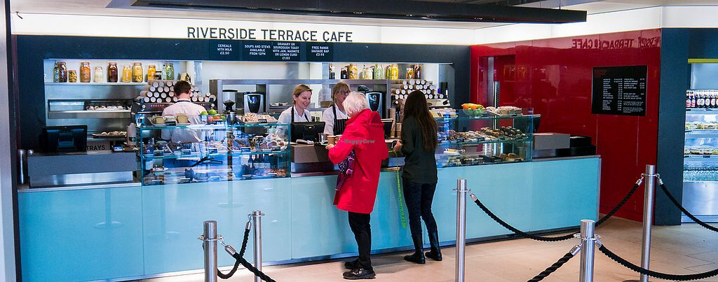 """Photo of Riverside Terrace Cafe  by <a href=""""/members/profile/VeggieFromSpace"""">VeggieFromSpace</a> <br/>banner <br/> July 22, 2017  - <a href='/contact/abuse/image/96767/283140'>Report</a>"""