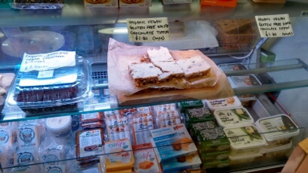 """Photo of Gillam's Tea Room  by <a href=""""/members/profile/craigmc"""">craigmc</a> <br/>vegan cakes, tofu and cheese <br/> March 11, 2016  - <a href='/contact/abuse/image/9676/139604'>Report</a>"""