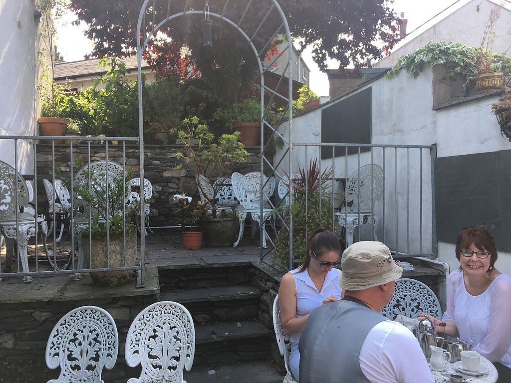 """Photo of Gillam's Tea Room  by <a href=""""/members/profile/AndyDennis"""">AndyDennis</a> <br/>outside dining area <br/> July 18, 2017  - <a href='/contact/abuse/image/9676/281835'>Report</a>"""