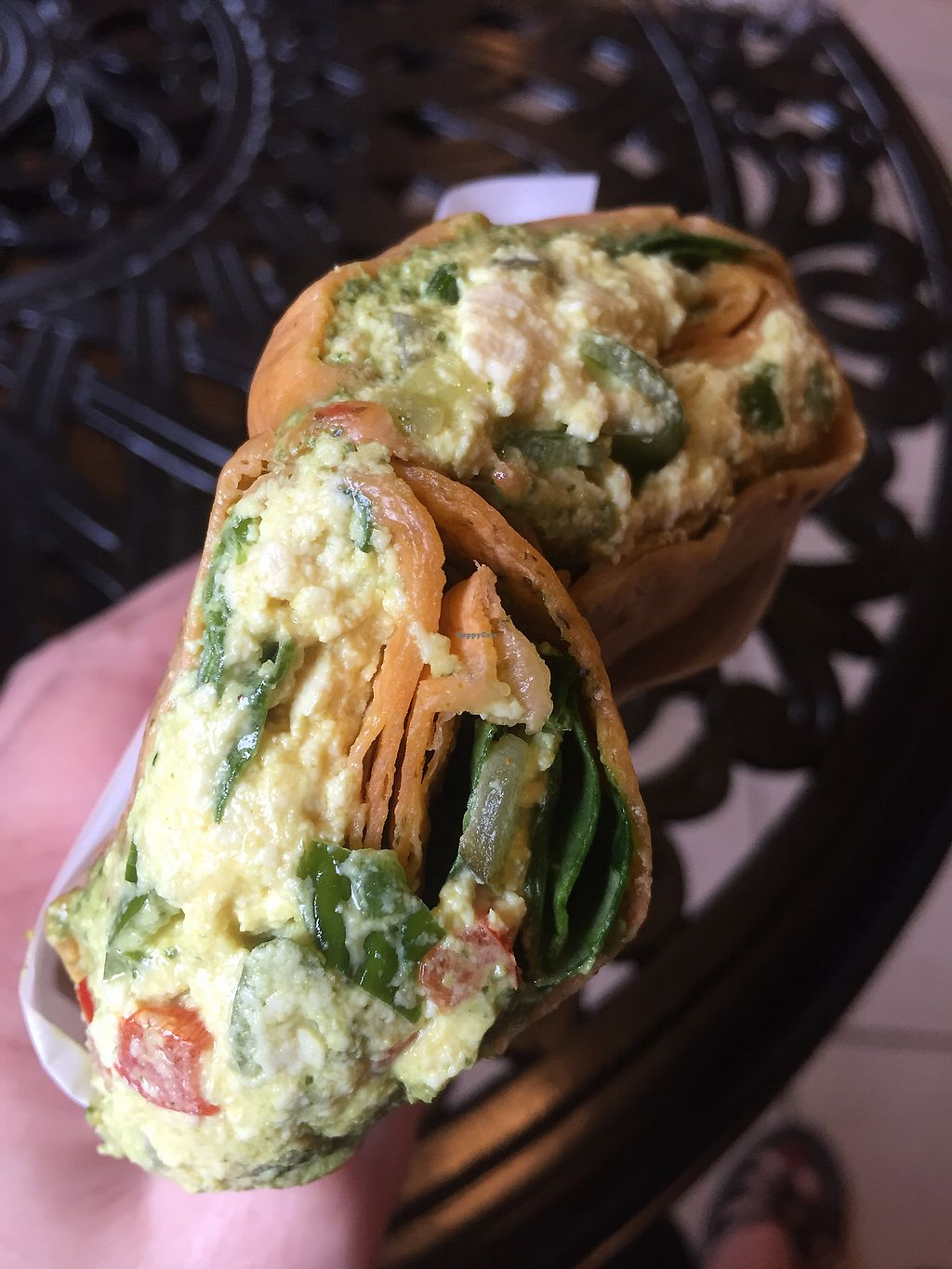 "Photo of Lelulo's  by <a href=""/members/profile/happycowgirl"">happycowgirl</a> <br/>tofu salad wrap (vegan) <br/> July 27, 2017  - <a href='/contact/abuse/image/96777/285659'>Report</a>"