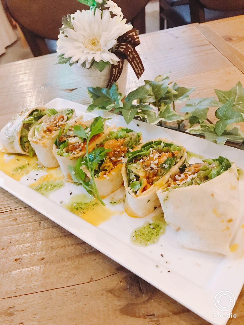 "Photo of Hemp Cafe Tokyo  by <a href=""/members/profile/HEMPCAFE"">HEMPCAFE</a> <br/>Mexican hemp burrito