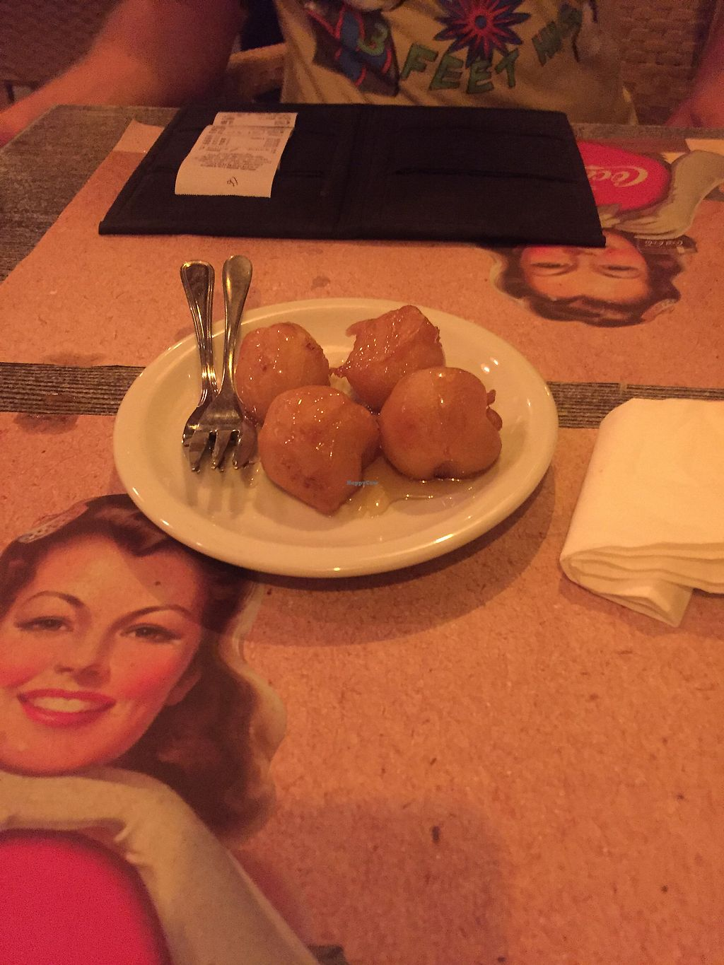 """Photo of Paradox Thai Food and Bar  by <a href=""""/members/profile/SoniaJames"""">SoniaJames</a> <br/>Fried banana  <br/> September 18, 2017  - <a href='/contact/abuse/image/96811/305822'>Report</a>"""