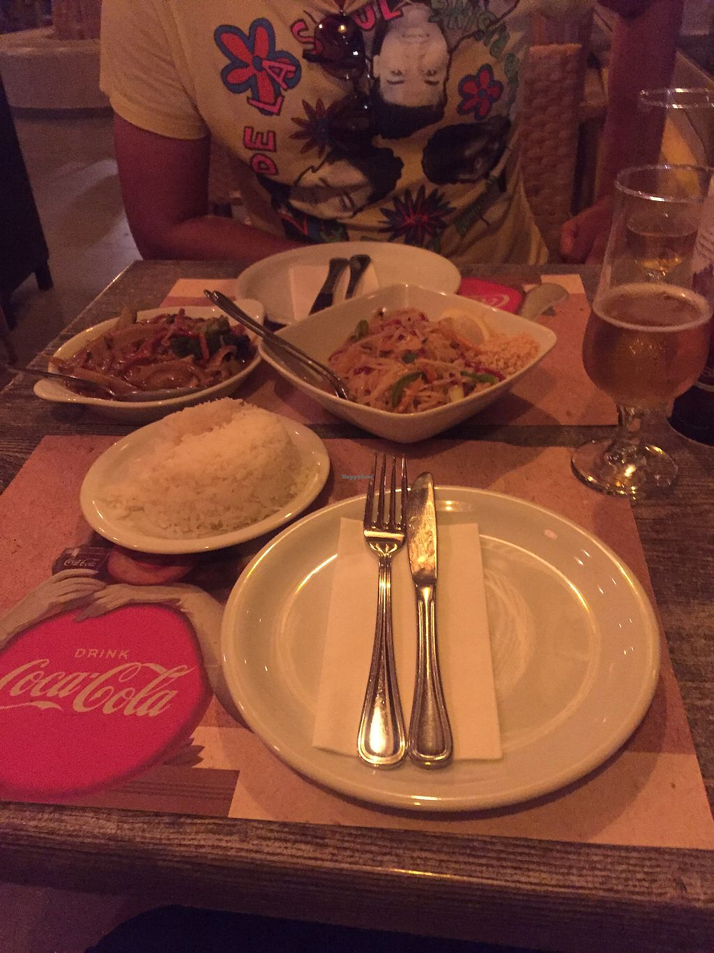 """Photo of Paradox Thai Food and Bar  by <a href=""""/members/profile/SoniaJames"""">SoniaJames</a> <br/>Our Vegan main <br/> September 18, 2017  - <a href='/contact/abuse/image/96811/305824'>Report</a>"""