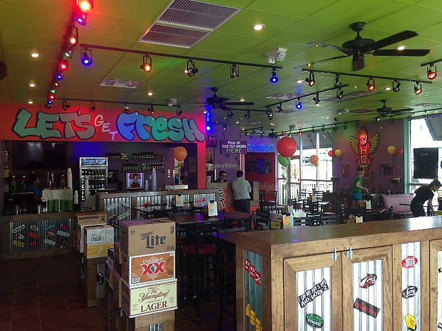 """Photo of Tijuana Flats  by <a href=""""/members/profile/renee.duquette"""">renee.duquette</a> <br/>inside <br/> July 23, 2017  - <a href='/contact/abuse/image/96822/283718'>Report</a>"""