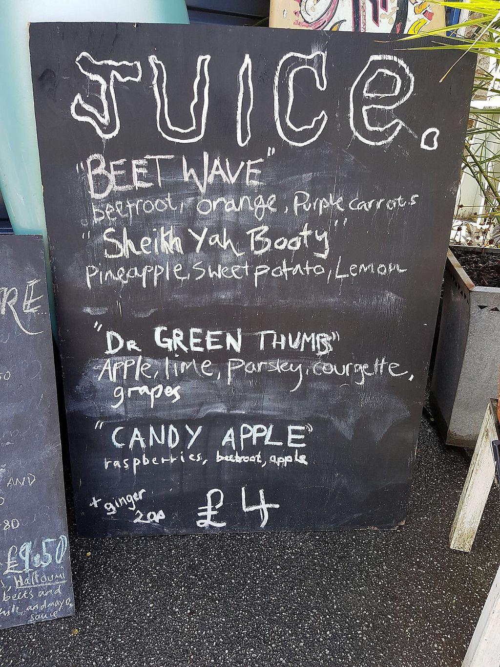 "Photo of Lickle Pickle Food Truck  by <a href=""/members/profile/KelseyHudspeth"">KelseyHudspeth</a> <br/>juice menu <br/> July 23, 2017  - <a href='/contact/abuse/image/96832/283608'>Report</a>"