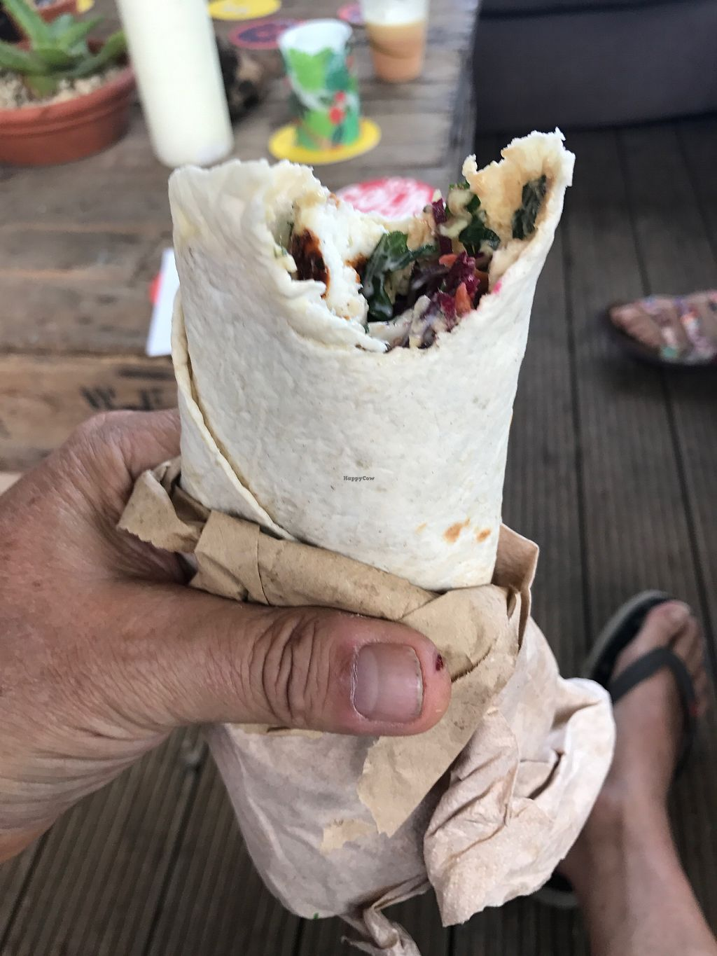 "Photo of Lickle Pickle Food Truck  by <a href=""/members/profile/Weds"">Weds</a> <br/>halloumi wraps <br/> August 17, 2017  - <a href='/contact/abuse/image/96832/293642'>Report</a>"