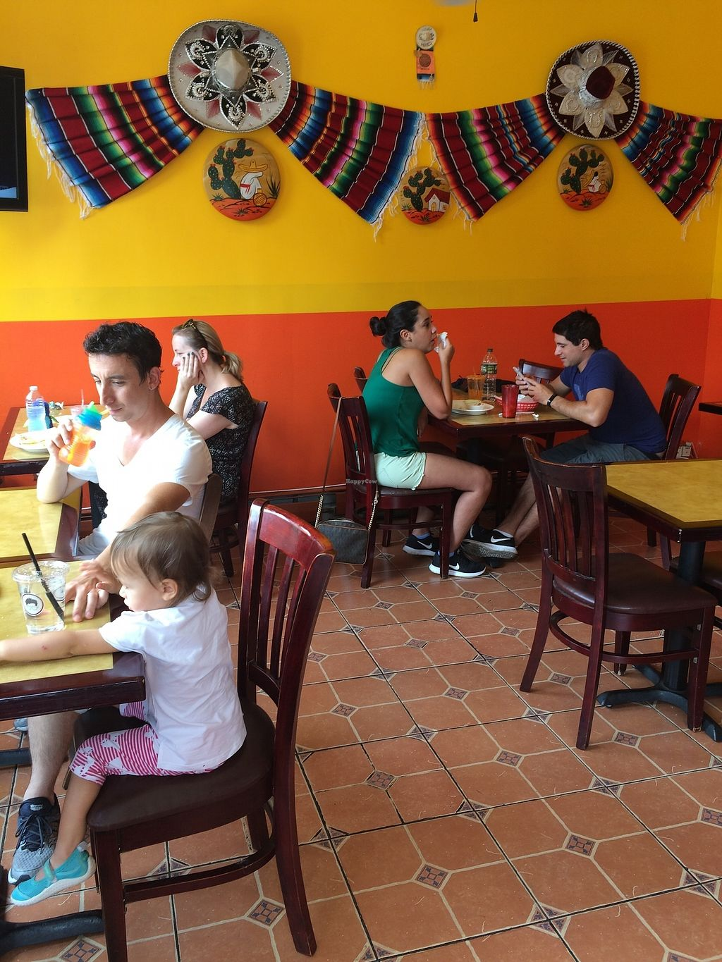 """Photo of Bubby's Burritos  by <a href=""""/members/profile/Trummerflute"""">Trummerflute</a> <br/>Indoor seating (has AC) <br/> July 23, 2017  - <a href='/contact/abuse/image/96849/283431'>Report</a>"""