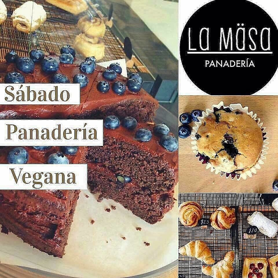"""Photo of La Masa Panaderia  by <a href=""""/members/profile/YanethGris"""">YanethGris</a> <br/>Vegan Saturday bakery day  <br/> November 1, 2017  - <a href='/contact/abuse/image/96861/320672'>Report</a>"""