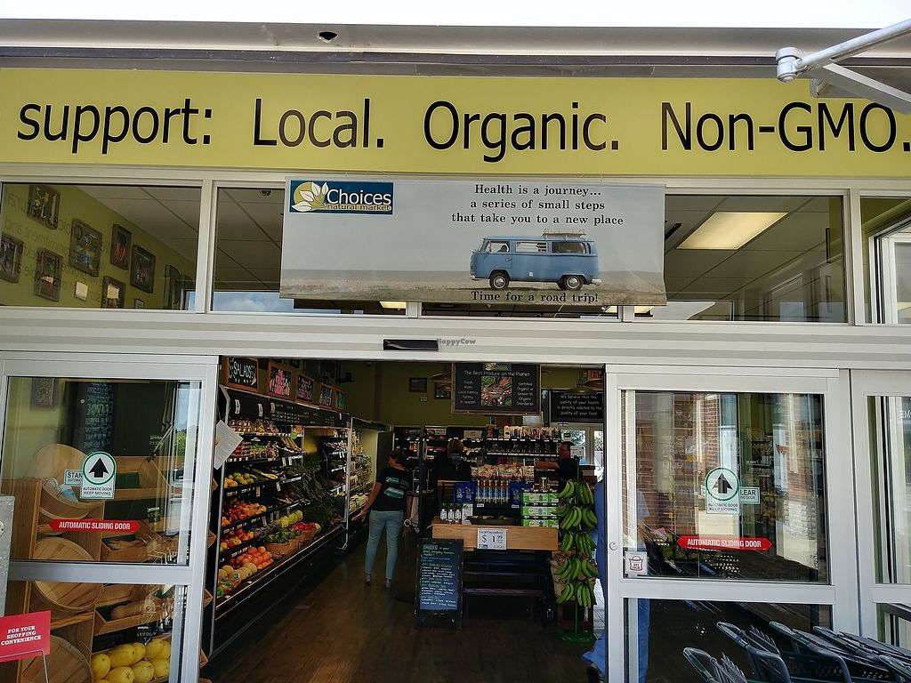 """Photo of Choices Natural Market  by <a href=""""/members/profile/PlantSim"""">PlantSim</a> <br/>They put their values right on the wall. Products, are hand-selected by the staff <br/> August 22, 2017  - <a href='/contact/abuse/image/9689/295856'>Report</a>"""