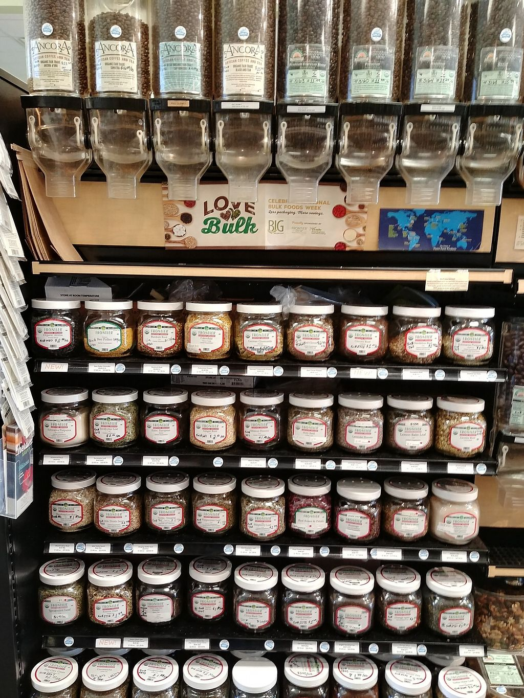 """Photo of Choices Natural Market  by <a href=""""/members/profile/PlantSim"""">PlantSim</a> <br/>Certified organic bulk coffees and teas, so you can try just a little or stock up <br/> August 22, 2017  - <a href='/contact/abuse/image/9689/296001'>Report</a>"""
