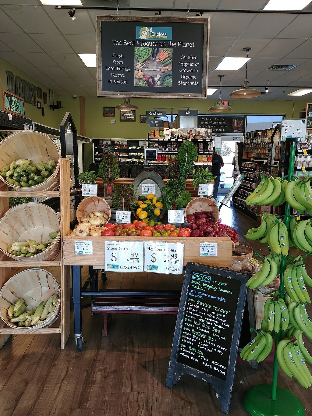 """Photo of Choices Natural Market  by <a href=""""/members/profile/PlantSim"""">PlantSim</a> <br/>Yum! <br/> August 23, 2017  - <a href='/contact/abuse/image/9689/296203'>Report</a>"""
