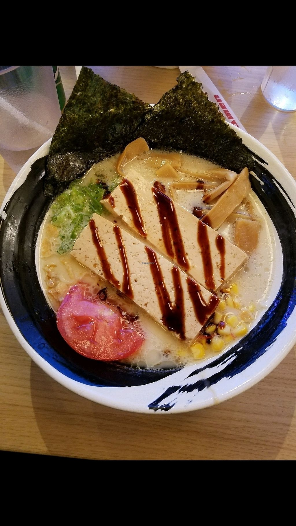 """Photo of Nishiki Ramen  by <a href=""""/members/profile/haleydaley"""">haleydaley</a> <br/>vegan noodles+tofu+seaweed  <br/> November 14, 2017  - <a href='/contact/abuse/image/96903/325408'>Report</a>"""