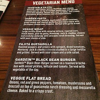 """Photo of Miller's Ale House  by <a href=""""/members/profile/renee.duquette"""">renee.duquette</a> <br/>veg menu <br/> July 24, 2017  - <a href='/contact/abuse/image/96925/284283'>Report</a>"""