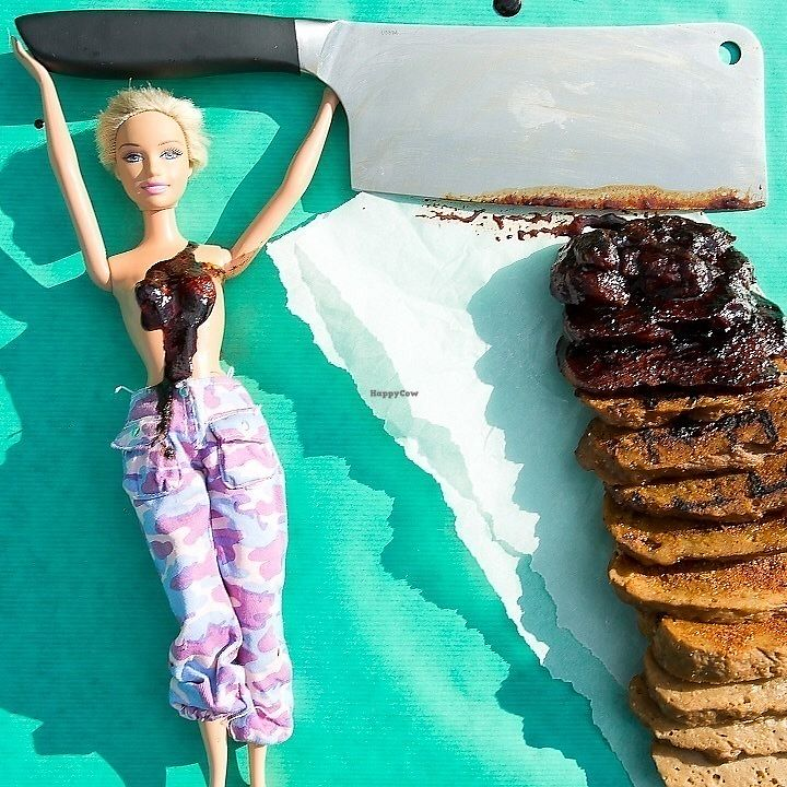 "Photo of Barbie Grrrl  by <a href=""/members/profile/MegaNunn"">MegaNunn</a> <br/>The seitan in all its stages - undressed, rubbed, grilled and slathered in BBQ sauce <br/> July 23, 2017  - <a href='/contact/abuse/image/96937/283927'>Report</a>"