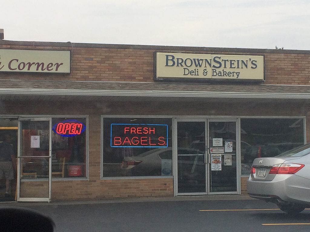 "Photo of Brownsteins Deli & Bakery  by <a href=""/members/profile/fruitiJulie"">fruitiJulie</a> <br/>outside 2 <br/> July 23, 2017  - <a href='/contact/abuse/image/96951/284049'>Report</a>"