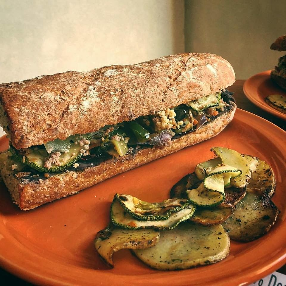 "Photo of CLOSED: Corazon Artessanos  by <a href=""/members/profile/community5"">community5</a> <br/>Baguette with vegetable mix; pumpkin, beet, mushrooms, potato, green peppers, purple and white onion, garlic and parsley <br/> August 2, 2017  - <a href='/contact/abuse/image/96968/287909'>Report</a>"