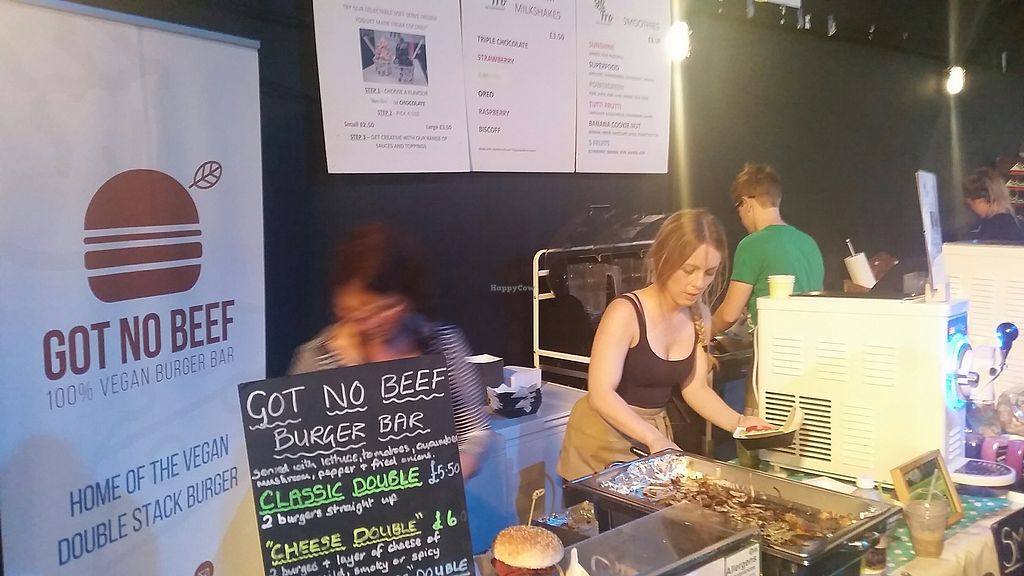 "Photo of Got No Beef Burger Bar  by <a href=""/members/profile/konlish"">konlish</a> <br/>At Welsh Vegan Festival  July 2017 <br/> July 24, 2017  - <a href='/contact/abuse/image/96974/284251'>Report</a>"
