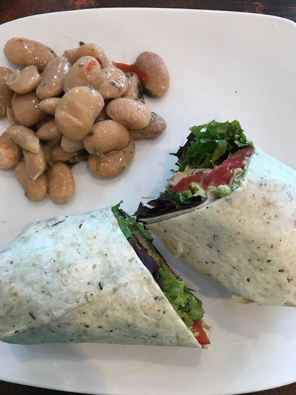 "Photo of The Beanery Cafe and Bakery  by <a href=""/members/profile/MyGreenTongue"">MyGreenTongue</a> <br/>earthy chickpea wrap <br/> September 5, 2017  - <a href='/contact/abuse/image/96991/301222'>Report</a>"