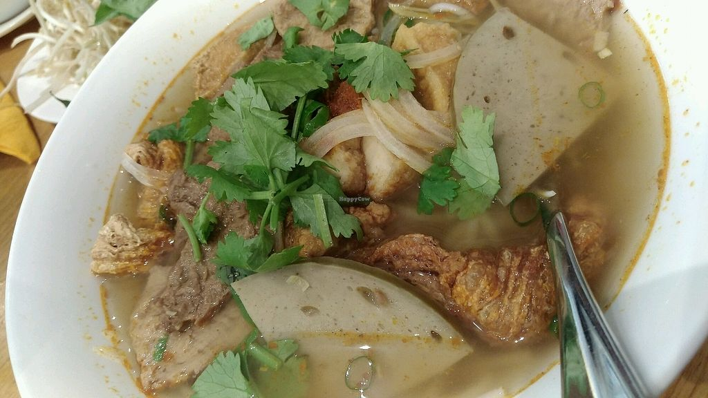 "Photo of An Nguyen Vegan  by <a href=""/members/profile/lasm"">lasm</a> <br/>Bun Hue <br/> February 9, 2018  - <a href='/contact/abuse/image/97013/356602'>Report</a>"
