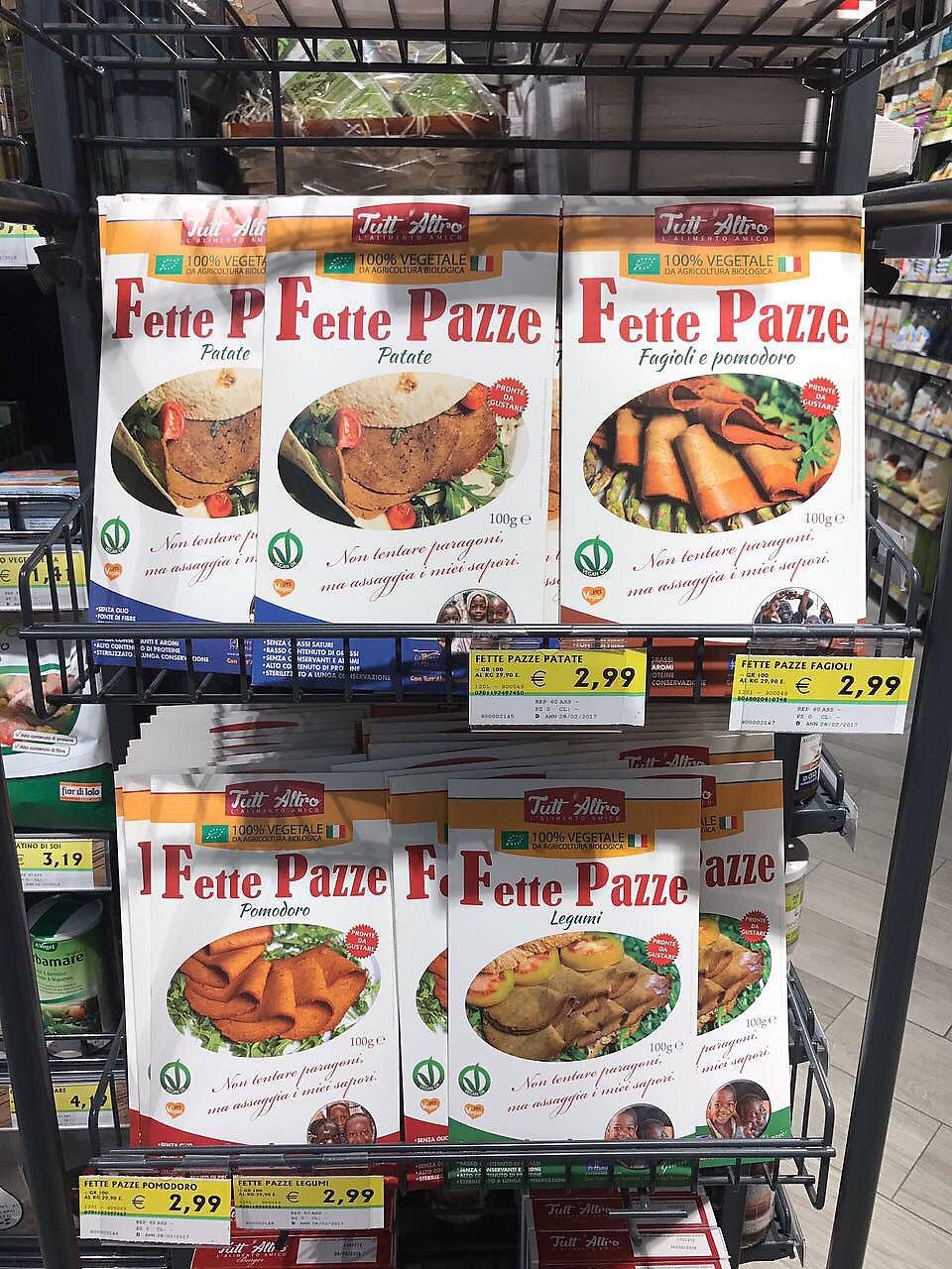 "Photo of Meta Supermercato  by <a href=""/members/profile/PepaKovacs"">PepaKovacs</a> <br/>Vegan Jam <br/> August 18, 2017  - <a href='/contact/abuse/image/97022/294023'>Report</a>"