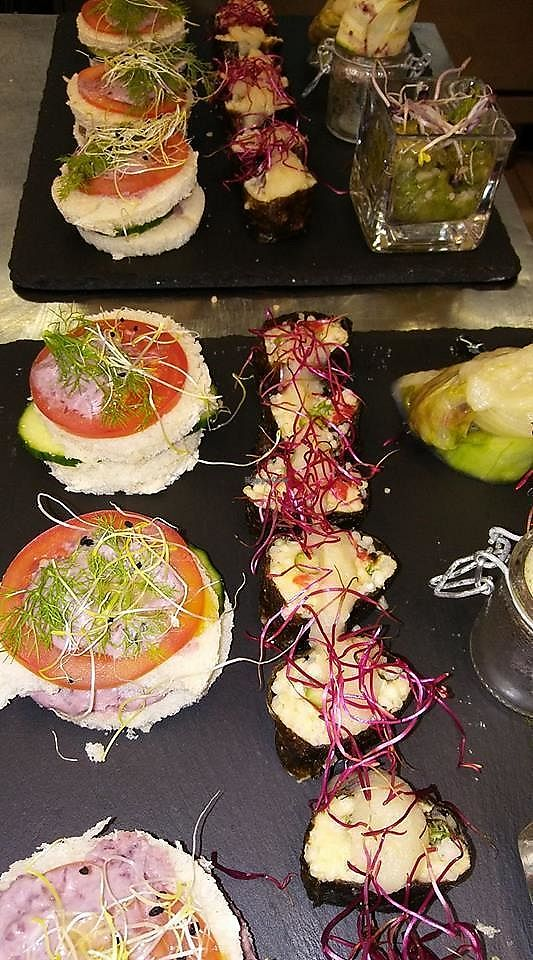 """Photo of Just Café  by <a href=""""/members/profile/community5"""">community5</a> <br/>Vegan Aperitif <br/> July 27, 2017  - <a href='/contact/abuse/image/97027/285490'>Report</a>"""