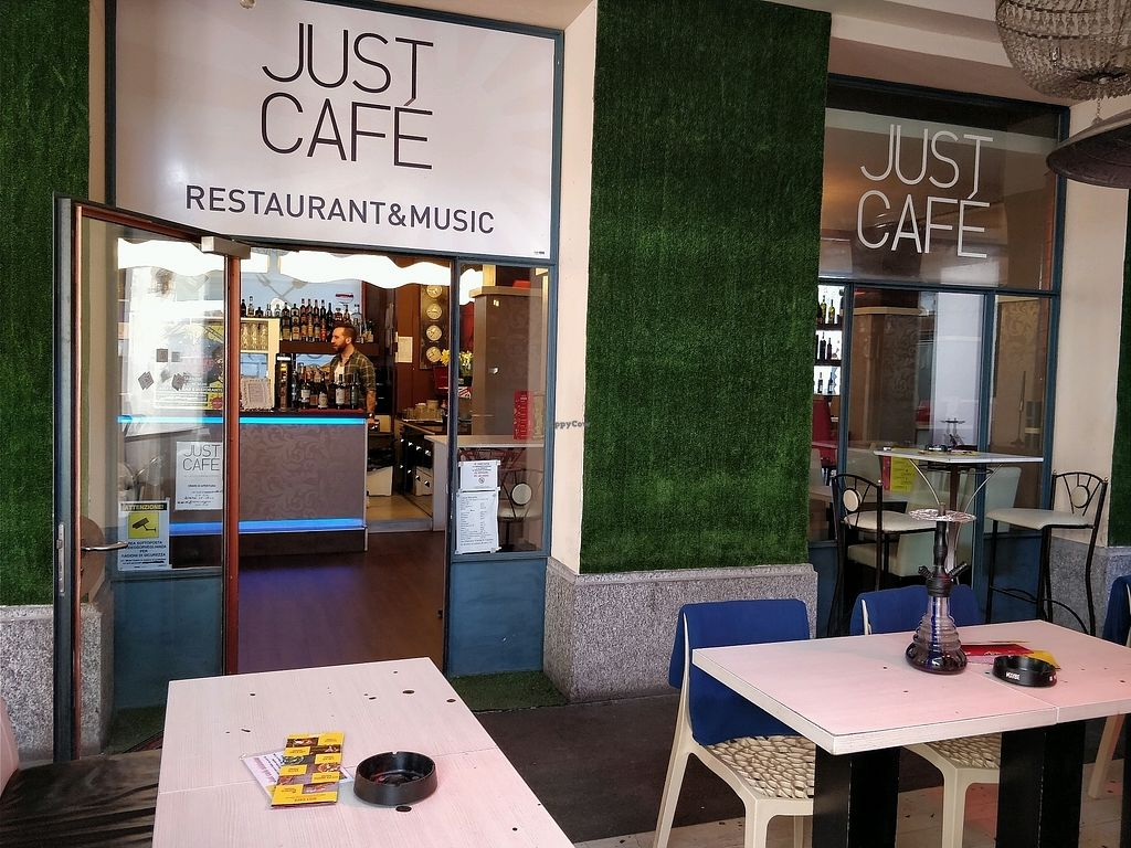 """Photo of Just Café  by <a href=""""/members/profile/JimmySeah"""">JimmySeah</a> <br/>just cafe shop front <br/> April 6, 2018  - <a href='/contact/abuse/image/97027/381618'>Report</a>"""