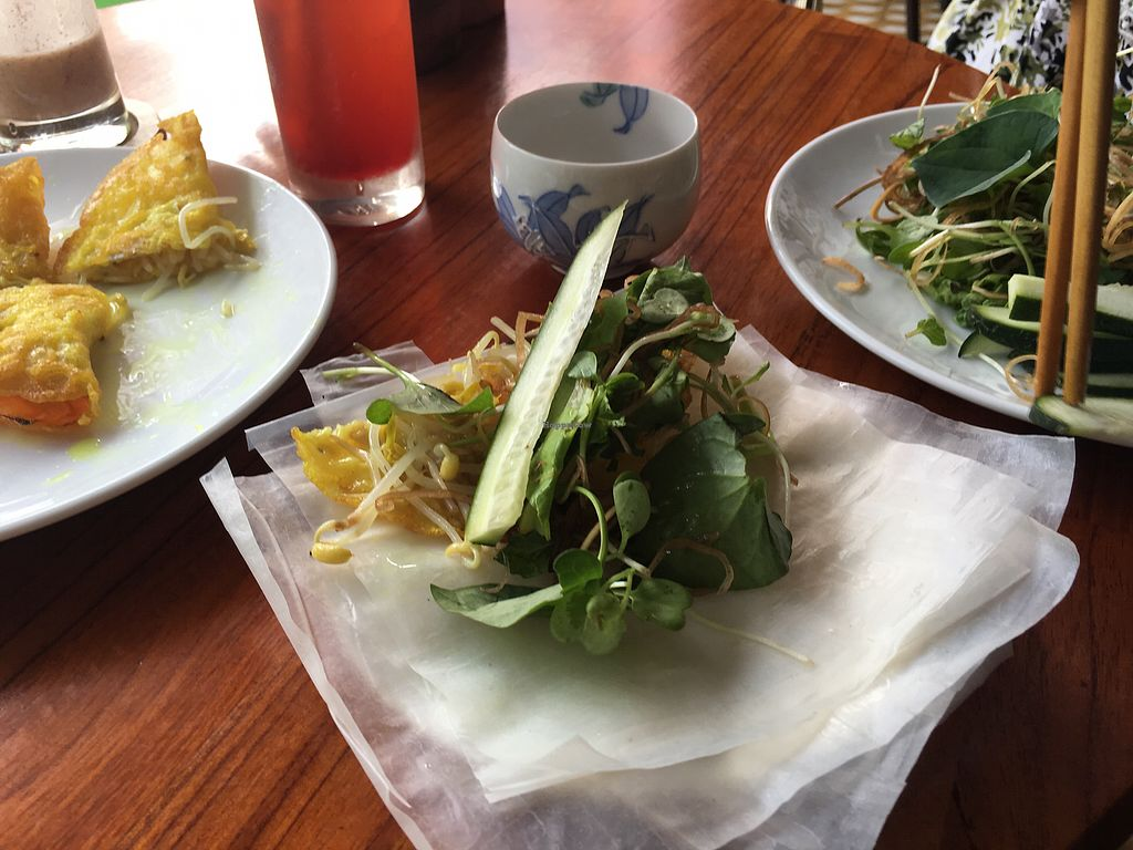 "Photo of CLOSED: Nhat Da  by <a href=""/members/profile/Veg4Jay"">Veg4Jay</a> <br/>Making Wrap with Vietnamese Pancake <br/> September 28, 2017  - <a href='/contact/abuse/image/9703/309324'>Report</a>"