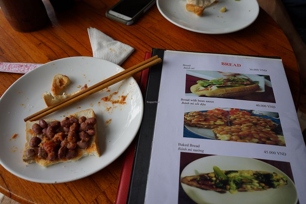 "Photo of CLOSED: Nhat Da  by <a href=""/members/profile/frads"">frads</a> <br/>My meal versus the image, with inferior bread, no bean sauce, and different beans <br/> January 11, 2018  - <a href='/contact/abuse/image/9703/345390'>Report</a>"