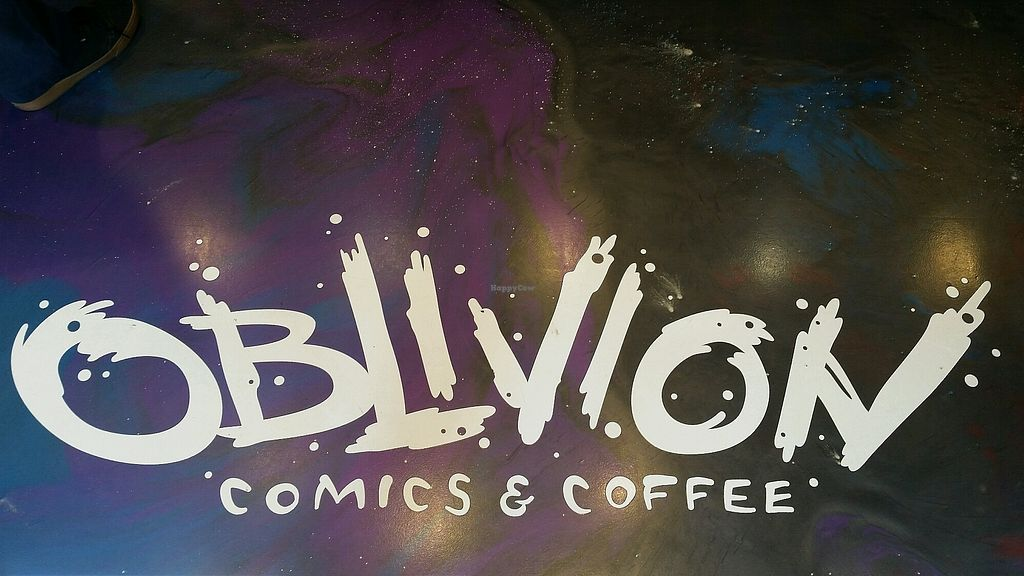 """Photo of Oblivion Comics and Coffee  by <a href=""""/members/profile/True%20North"""">True North</a> <br/>welcome mat <br/> August 24, 2017  - <a href='/contact/abuse/image/97111/296714'>Report</a>"""