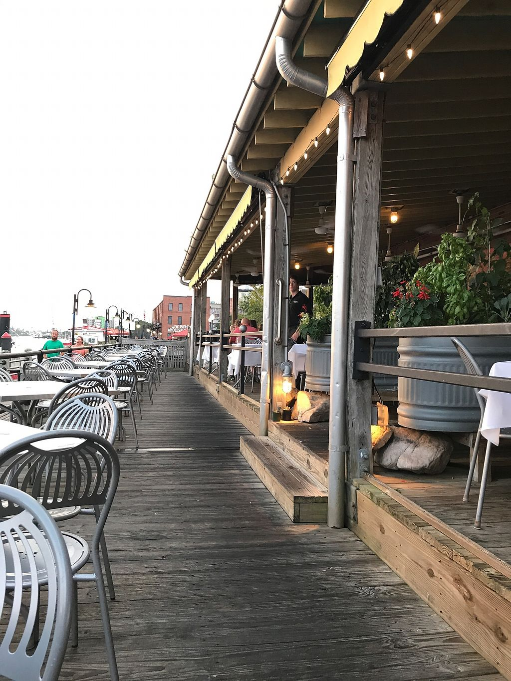 """Photo of The George on the Riverwalk  by <a href=""""/members/profile/angelcrowe"""">angelcrowe</a> <br/>The patios and riverfront atmosphere <br/> July 26, 2017  - <a href='/contact/abuse/image/97120/285182'>Report</a>"""