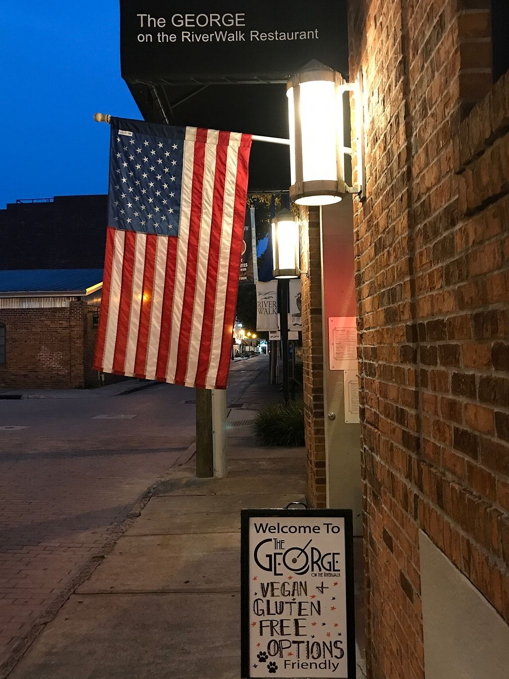 """Photo of The George on the Riverwalk  by <a href=""""/members/profile/angelcrowe"""">angelcrowe</a> <br/>Historic downtown <br/> July 26, 2017  - <a href='/contact/abuse/image/97120/285187'>Report</a>"""