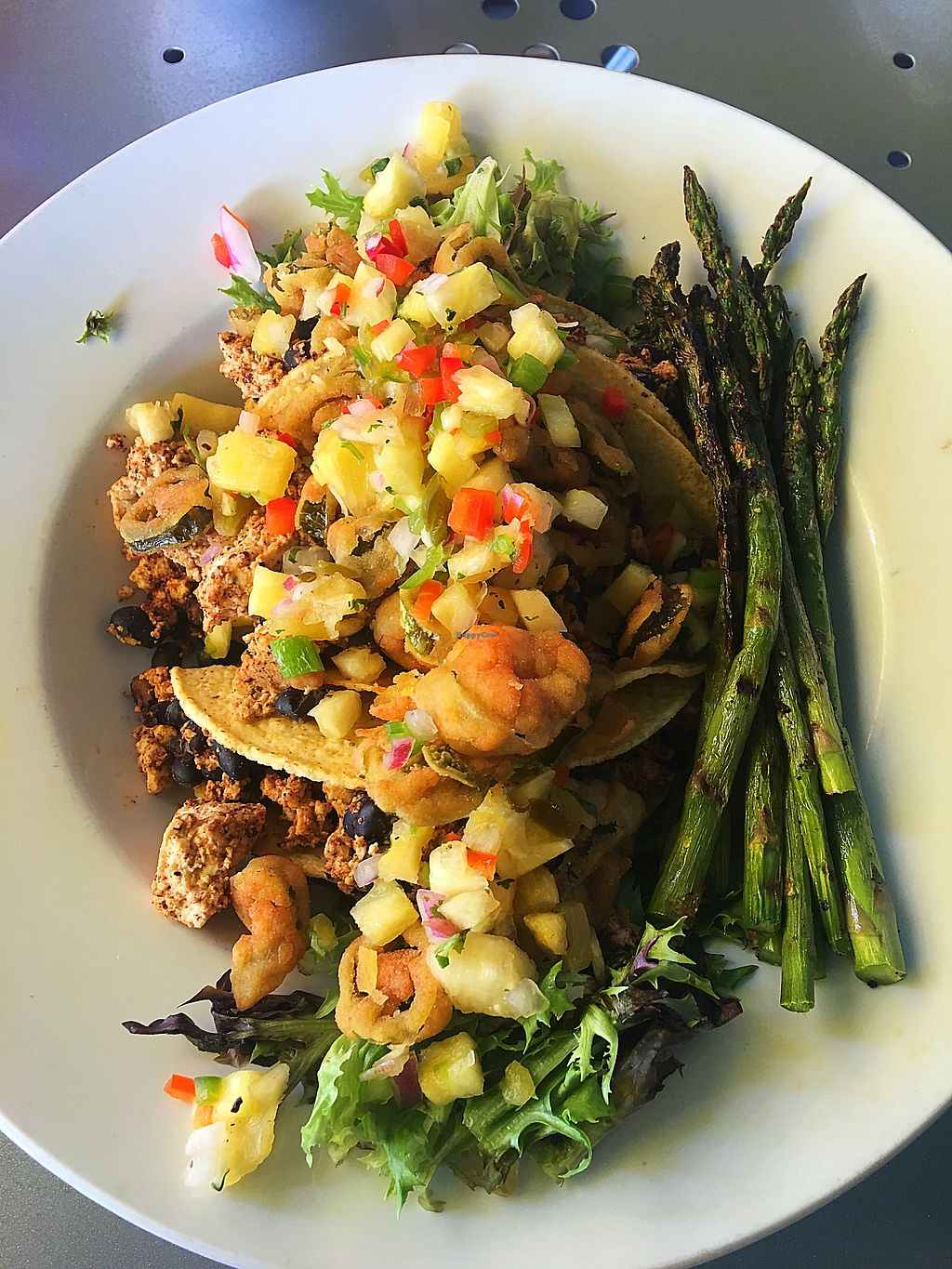 """Photo of The George on the Riverwalk  by <a href=""""/members/profile/HeatherArmstrong"""">HeatherArmstrong</a> <br/>Tofu Tacos  <br/> October 1, 2017  - <a href='/contact/abuse/image/97120/310798'>Report</a>"""