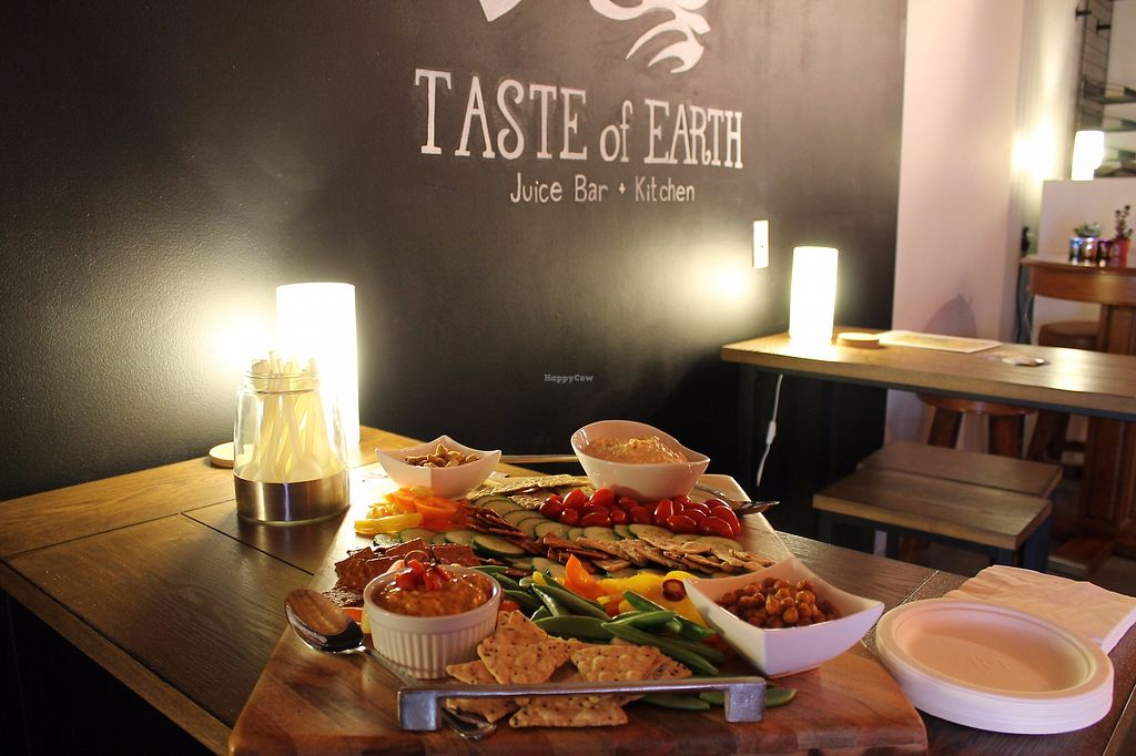 """Photo of Taste of Earth  by <a href=""""/members/profile/AsiaEast"""">AsiaEast</a> <br/>Opening Day samples <br/> August 9, 2017  - <a href='/contact/abuse/image/97129/290837'>Report</a>"""