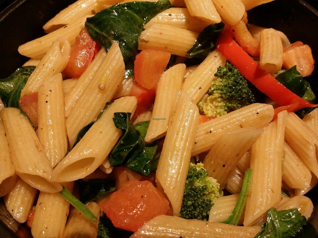 """Photo of Noodles and Company  by <a href=""""/members/profile/purplesnowcone"""">purplesnowcone</a> <br/>Pasta Fresca no cheese and custom veggies  <br/> August 3, 2017  - <a href='/contact/abuse/image/97131/288128'>Report</a>"""