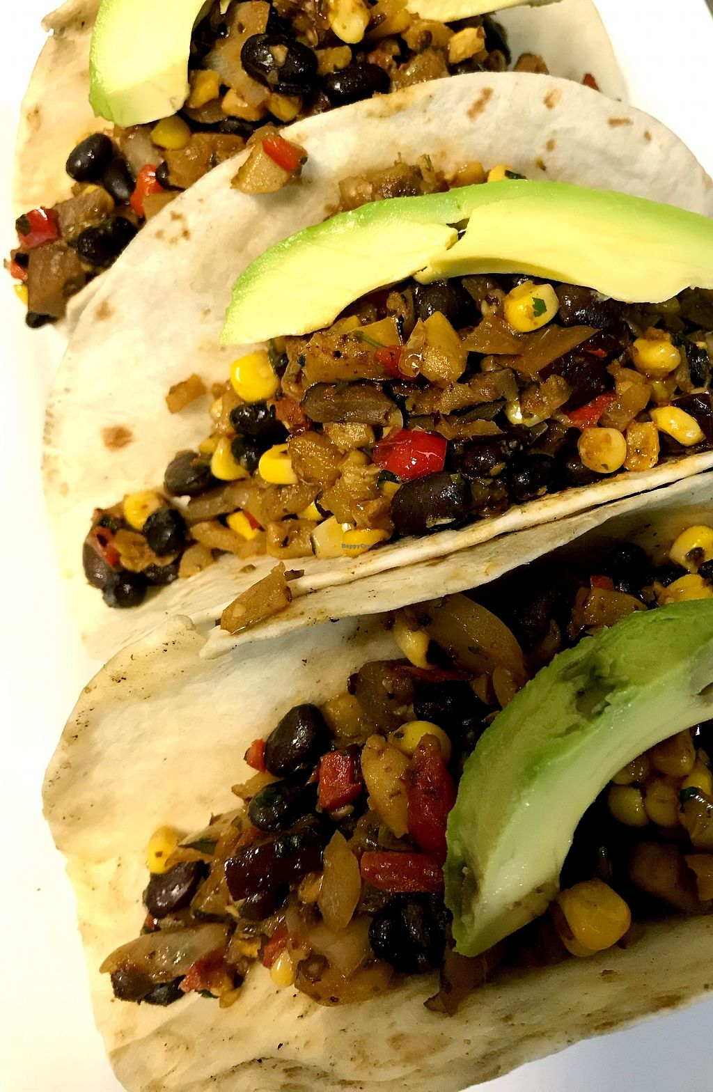 """Photo of S&P Oyster Company  by <a href=""""/members/profile/Spoyster"""">Spoyster</a> <br/> A perfect combination of eggplant, zucchini, squash, red peppers, Spanish onion,  black beans, corn, avacado and a jalapeño cumin crema.  <br/> February 2, 2018  - <a href='/contact/abuse/image/97138/354094'>Report</a>"""