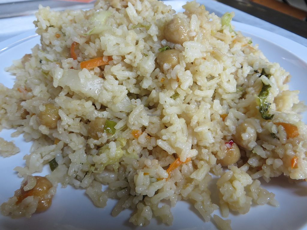 """Photo of Mensacafe  by <a href=""""/members/profile/VegiAnna"""">VegiAnna</a> <br/>basmati rice with exotic vegetables (vegan) <br/> August 10, 2017  - <a href='/contact/abuse/image/97169/291161'>Report</a>"""