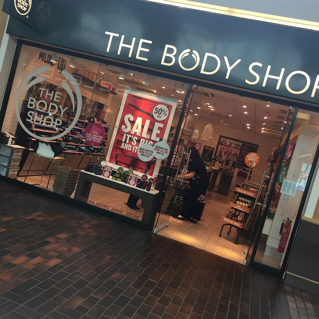 """Photo of The Body Shop  by <a href=""""/members/profile/TARAMCDONALD"""">TARAMCDONALD</a> <br/>Exterior of the shop <br/> October 24, 2017  - <a href='/contact/abuse/image/97175/318480'>Report</a>"""